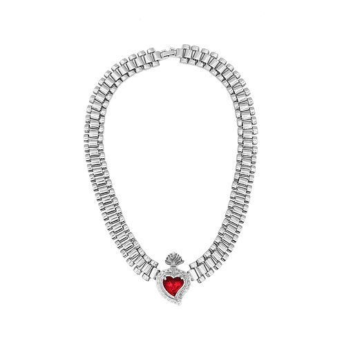 Rise Radiant Heart Necklace (Oversized)