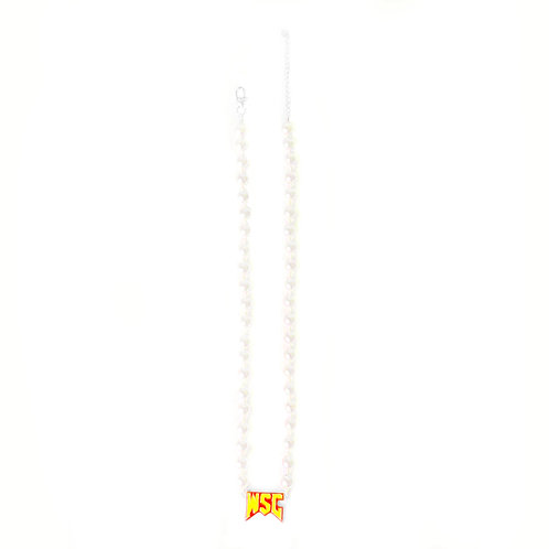 WSC Varsity Pearl Necklace