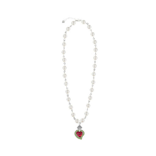 Rocky Radiant Heart (Red/Pearls)