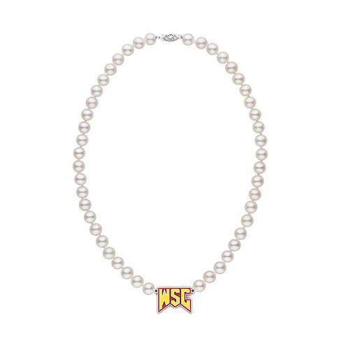 Varsity Necklace (Pearl)