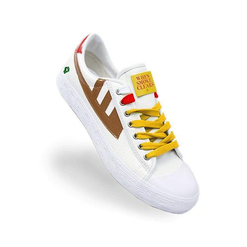 Heart Sneakers (Brown)