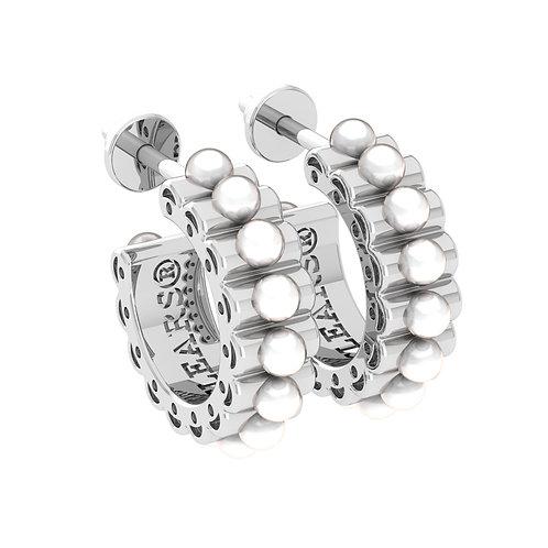 Rise Earrings (Pearl)