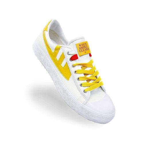 Heart Sneakers (Yellow)
