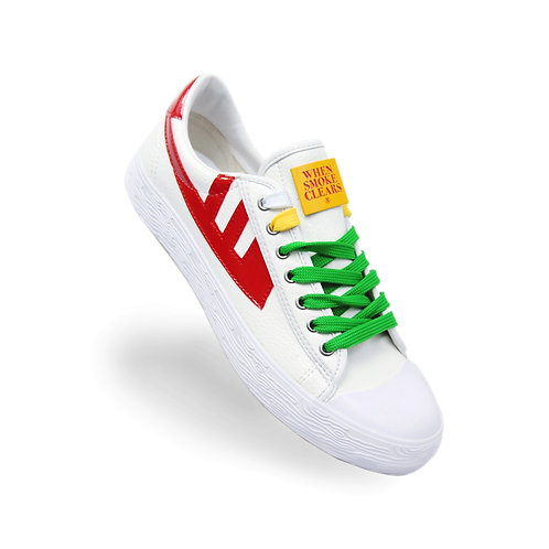 Heart Sneakers (Red)