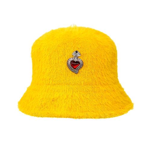Radiant Heart Bucket Hat (Yellow)