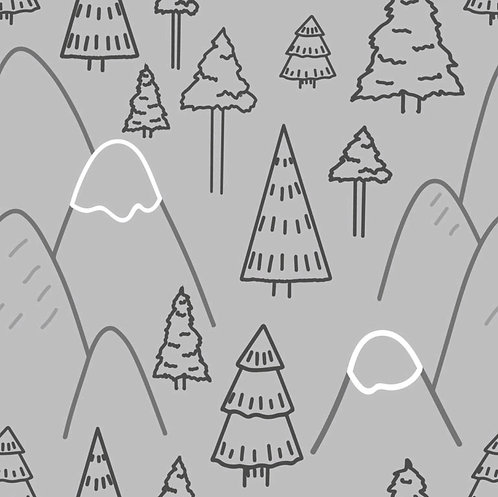 MOUNTAIN ADVENTURE ON GREY