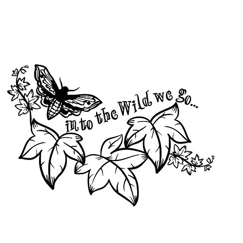 IN TO THE WILD WE GO (WOMAN'S TEE)