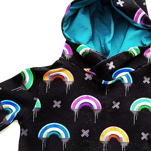 GRUNGE RAINBOWS sweatshirt or hoody