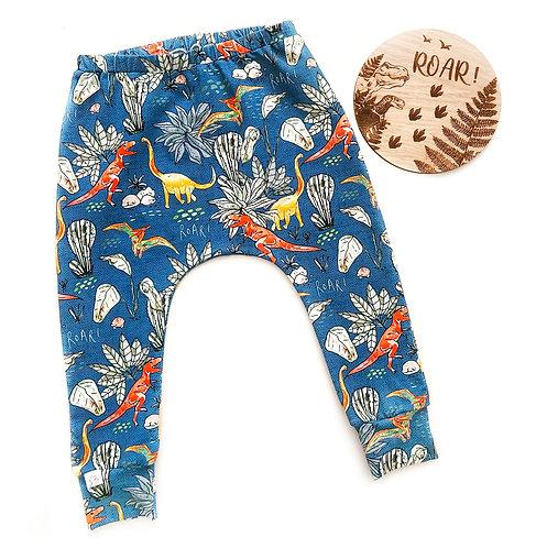 BOTANICAL DINOSAURS leggings/trousers/harems
