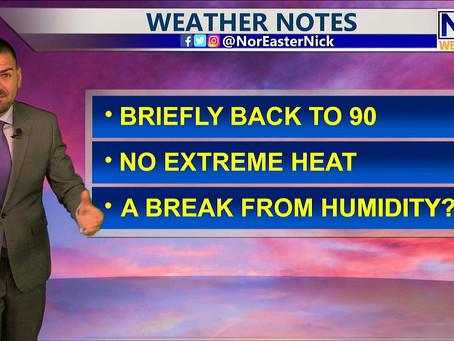 Monday Lunchtime Forecast July 19th, 2021