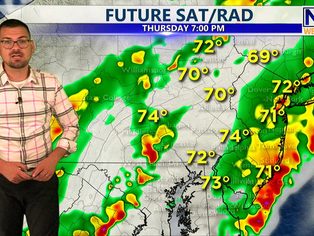 Thursday Evening Forecast July 1st, 2021