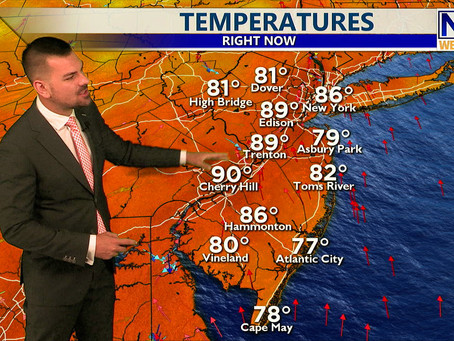 Tuesday Afternoon Forecast July 20th, 2021