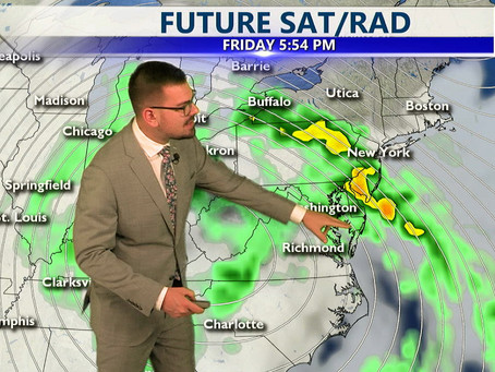 Wednesday Afternoon Forecast October 27th, 2021