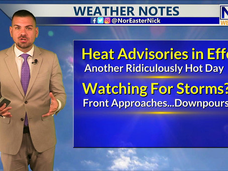 Friday Evening Forecast July 16th, 2021