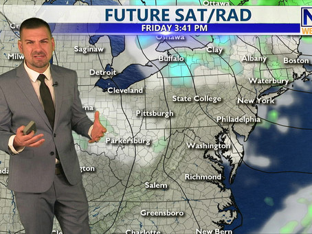 Thursday Morning Forecast April 29th, 2021
