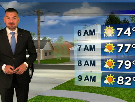 Saturday Morning Forecast July 17th, 2021