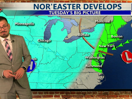 Tuesday Morning Forecast October 26th, 2021
