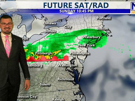 Saturday Evening Forecast October 23rd, 2021