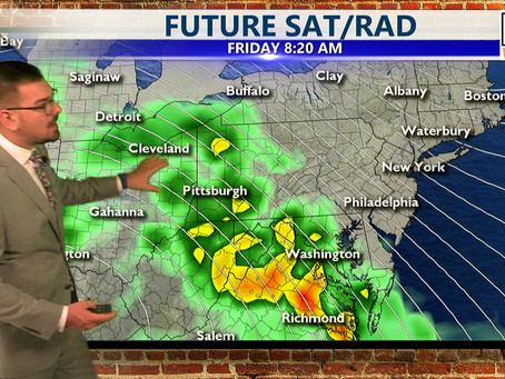 Wednesday Morning Forecast October 26th, 2021