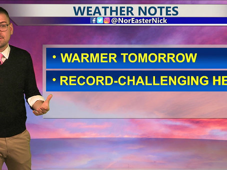 Monday Bedtime Forecast April 26th, 2021