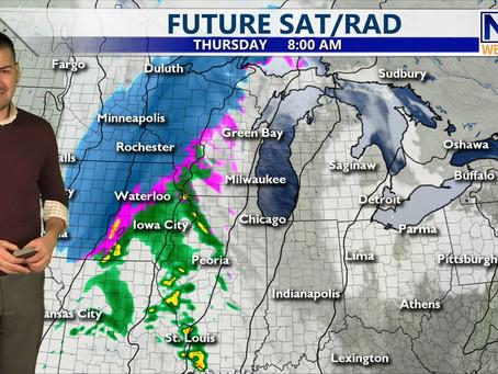 Thursday Morning Forecast February 4th