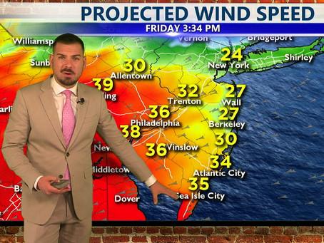 Thursday Morning Forecast October 28th, 2021