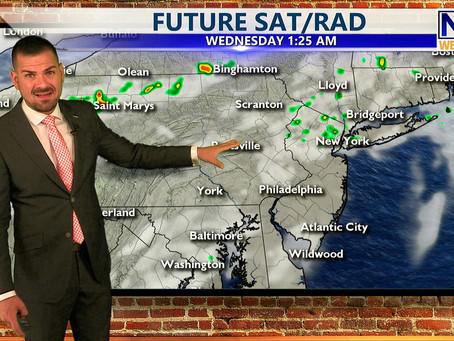 Tuesday Morning Forecast July 20th, 2021
