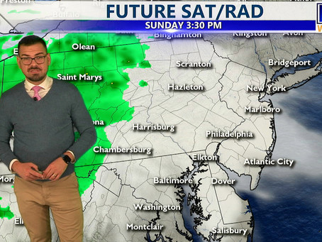 Sunday Afternoon Forecast October 24th, 2021