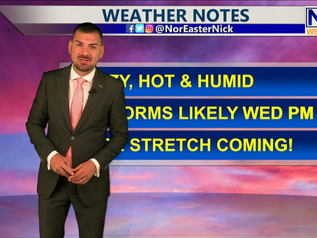 Tuesday Lunchtime Forecast July 20th, 2021