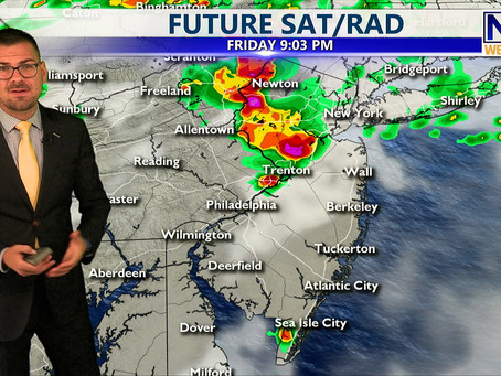 Friday Afternoon Forecast July 2nd, 2021