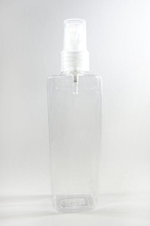 100ml PET Lily Clear Bottle with Sprayer