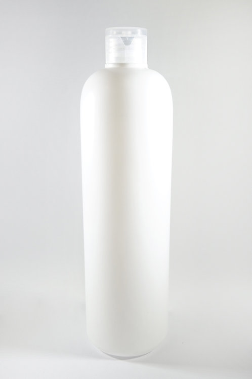 500ml HDPE Bullet White Bottle with Flip Cap