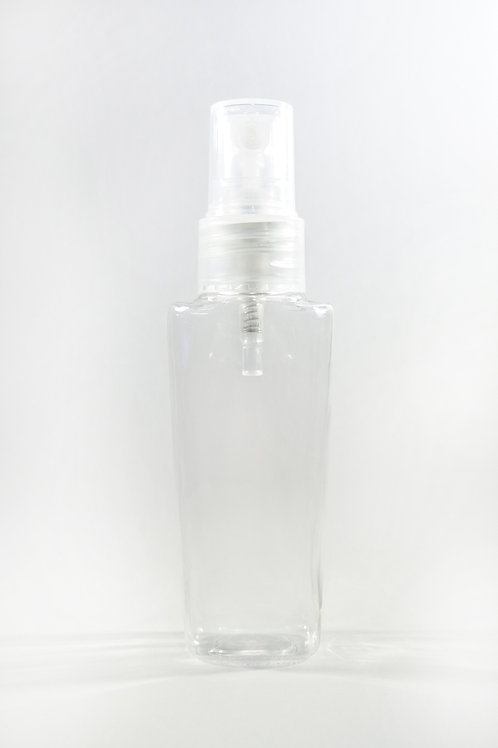 50ml PET Lily Clear Bottle with Sprayer