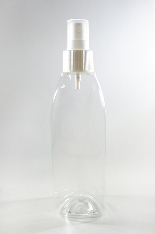 210ml PET Persia Clear Bottle with Sprayer