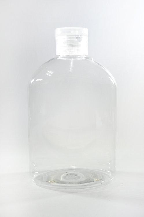 250ml PET Japonica Clear Bottle with Flip Cap