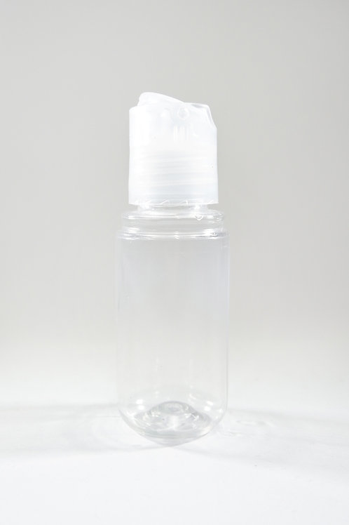 30ml PET Midget Clear Bottle with Disc Cap