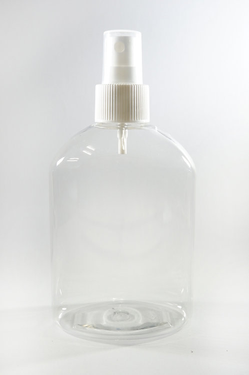 250ml PET Japonica Clear Bottle with Sprayer