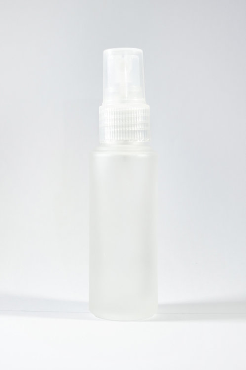35ml Glass Frosted Bottle with Sprayer