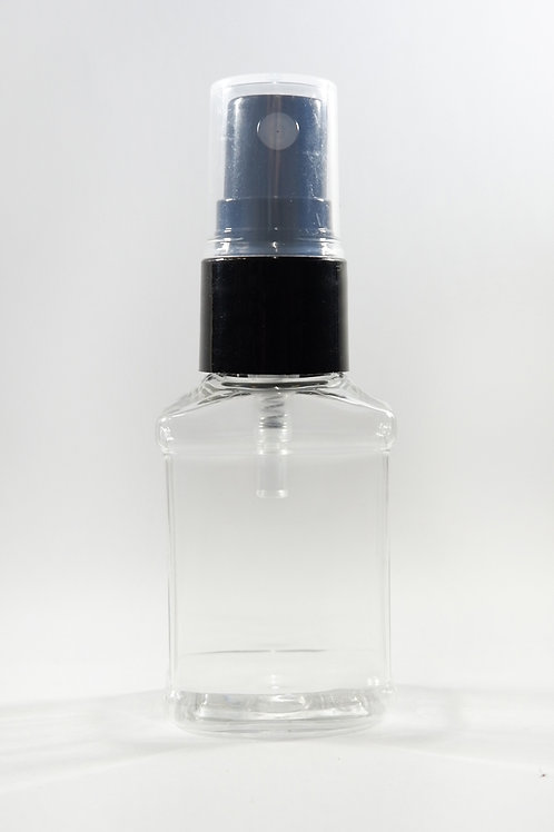 20ml PET Sprout Clear Bottle with Sprayer