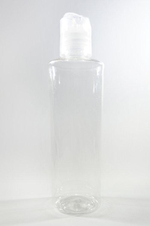 100ml PET Pheme Clear Bottle with Disc Cap