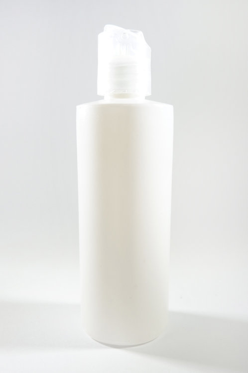 120ml HDPE Tubular White Bottle with Disc Cap