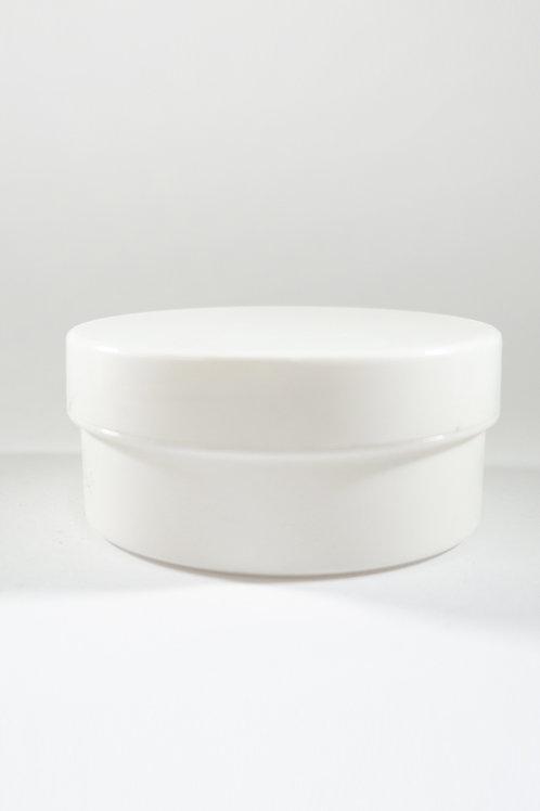 100g Tub Jar White with White Cap