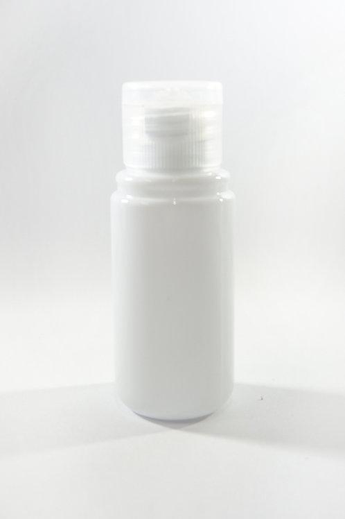 30ml PET Midget White Bottle with Flip Cap