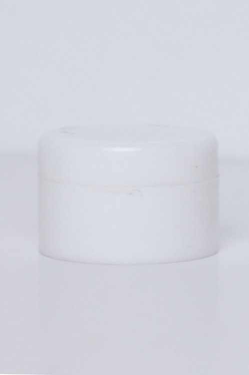 15g PP Double Wall Jar White Regular