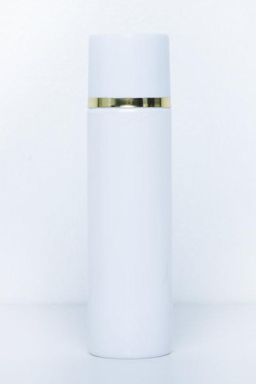 200ml PET Toner White Bottle with White Cap + Plug