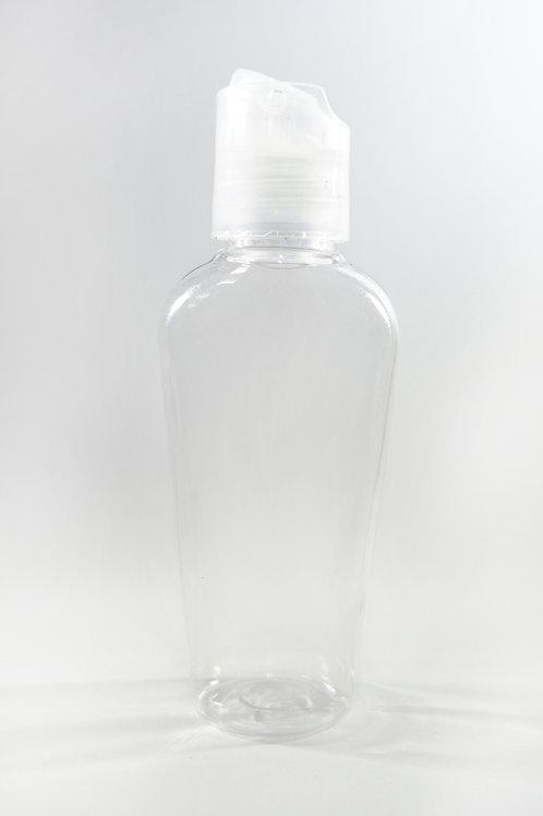 50ml PET Gerbera Clear Bottle with Disc Cap
