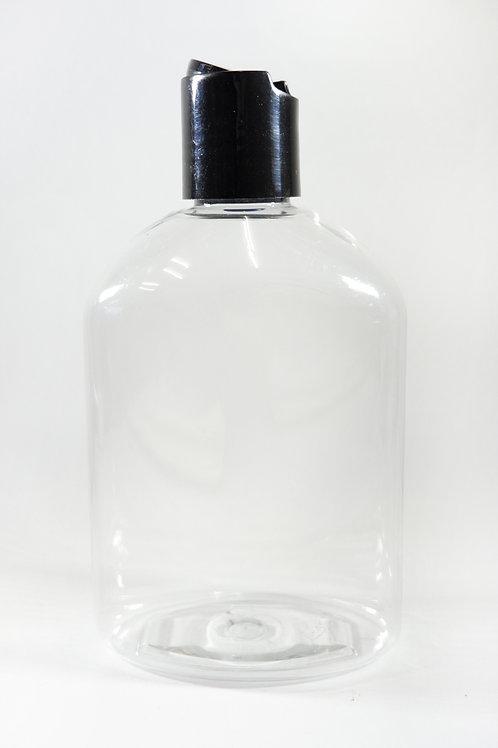 250ml PET Japonica Clear Bottle with Disc Cap