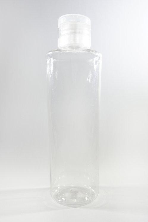100ml PET Pheme Clear Bottle with Flip Cap