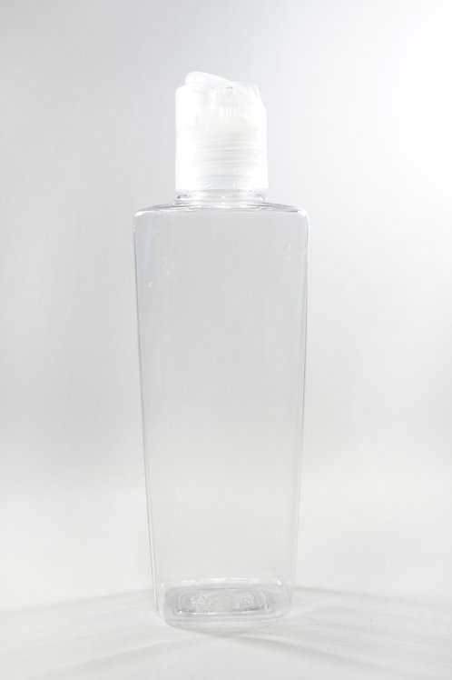 100ml PET Lily Clear Bottle with Disc Cap