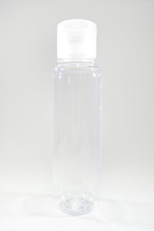 50ml PET Midget Clear Bottle with Flip Cap